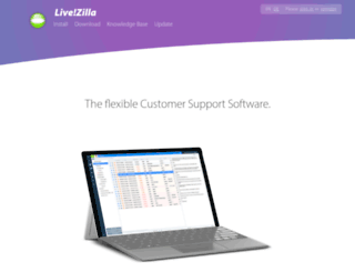 livezilla.com screenshot