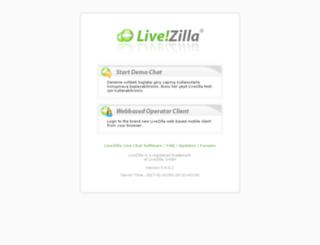 livezilla.pronetgaming.com screenshot