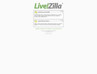 livezilla.topchange.net screenshot