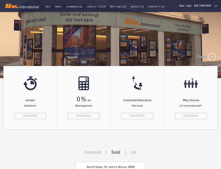 livhomes.com screenshot