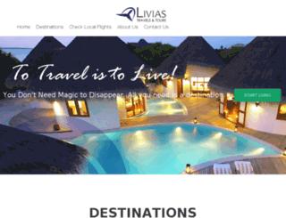 liviastravelandtours.com screenshot
