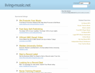living-music.net screenshot