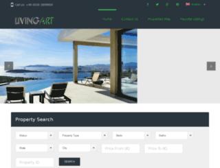 livingartrealty.com screenshot