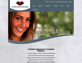 livingartswellness.com screenshot