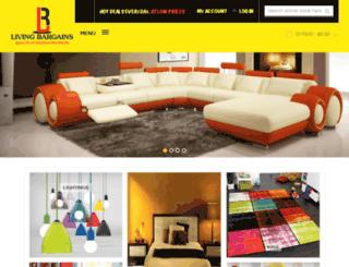livingbargains.com.au screenshot