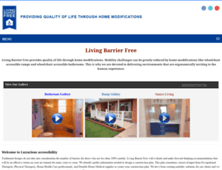 livingbarrierfree.com screenshot