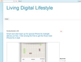 livingdigitallifestyle.blogspot.com screenshot