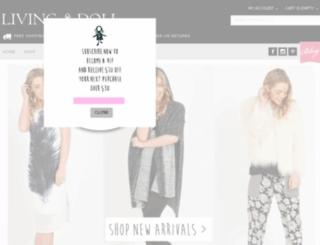 livingdollshop.com.au screenshot