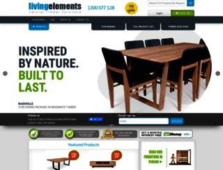 livingelements.com.au screenshot