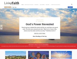 livingfaith.com screenshot
