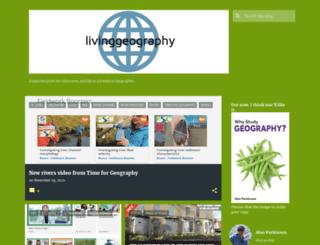livinggeography.blogspot.com screenshot
