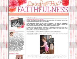livinginhisfaithfulness.blogspot.com screenshot