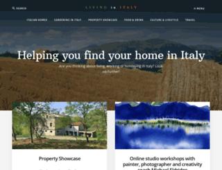 livinginitaly.com screenshot