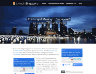 livinginsingapore.org screenshot