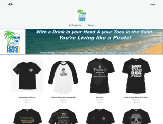 livinglikeapirate.com screenshot