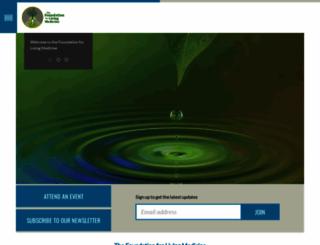 livingmedicine.nationbuilder.com screenshot
