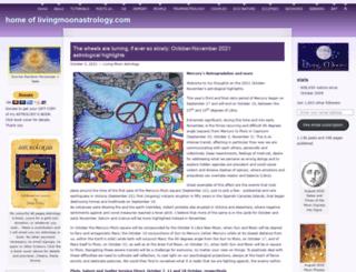 livingmoonastrology.com screenshot