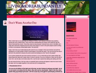 livingmoreabundantly4christ.com screenshot