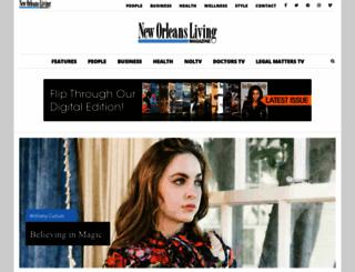 livingneworleans.com screenshot