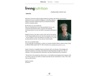 livingnutrition.co.nz screenshot