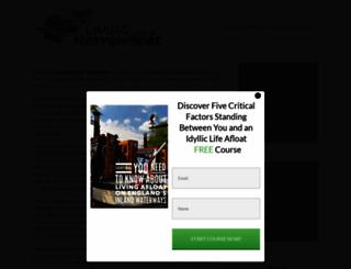 livingonanarrowboat.co.uk screenshot