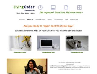 livingordersa.com screenshot