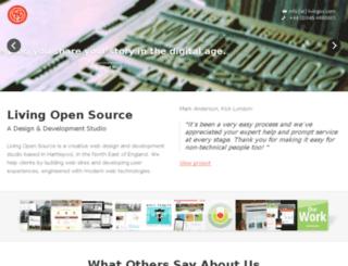 livingos.com screenshot