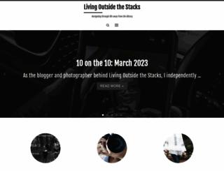 livingoutsidethestacks.com screenshot