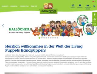 livingpuppets.de screenshot