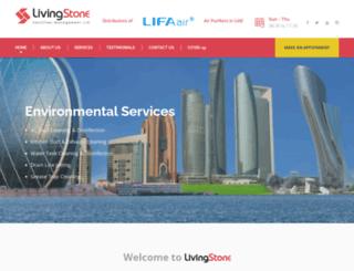 livingstoneuae.com screenshot