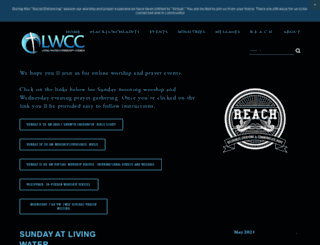 livingwatercommunity.church screenshot