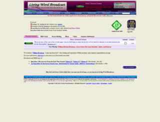 livingwordbroadcast.org screenshot