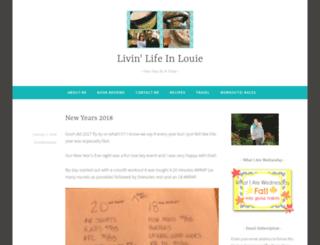 livinlifeinlouie.wordpress.com screenshot