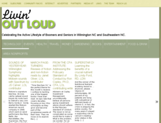 livinoutloudmag.com screenshot