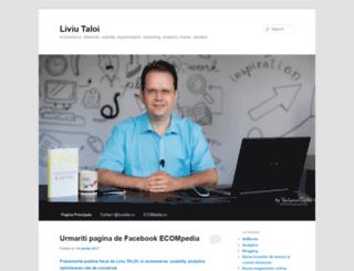 liviutaloi.ro screenshot