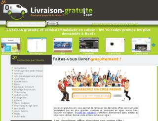 livraison-gratuite.com screenshot
