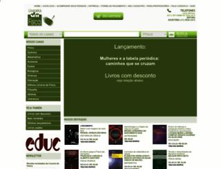 livrariadafisica.com.br screenshot
