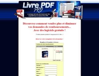 livre-pdf-pro.com screenshot