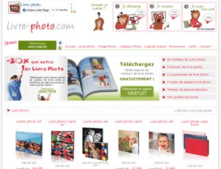 livre-photo.com screenshot