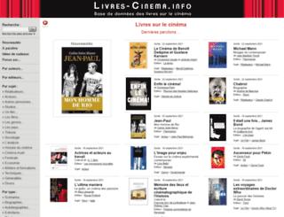 livres-cinema.info screenshot