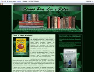 livrospralerereler.blogspot.com.br screenshot