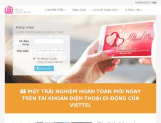 lixi.viettel.vn screenshot