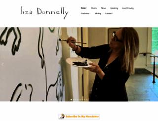 lizadonnelly.com screenshot