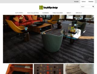 lizaphillipsdesign.com screenshot