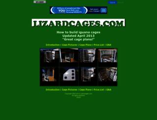 lizardcages.fws1.com screenshot
