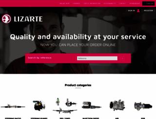 lizarte.com screenshot