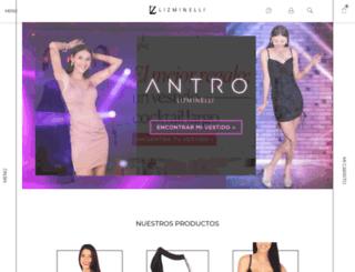 lizminelli.mx screenshot