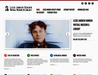 lizzieandrewborden.com screenshot