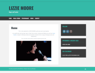 lizziemoore.com screenshot