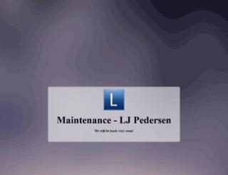 ljpedersen.com screenshot